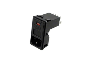 POWER ENTRY CONNECTOR RECEPTACLE IEC 320-C14 PANEL MOUNT by Digi-Key