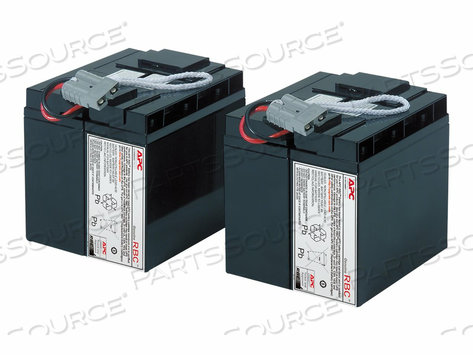 APC REPLACEMENT BATTERY CARTRIDGE #11 - UPS BATTERY LEAD ACID  - BLACK - FOR P/N: DLA2200J, SU2200I, SU3000I, SUA2200US, SUA3000RMXLT5U, SUA3000T, SUA3000US by APC / American Power Conversion
