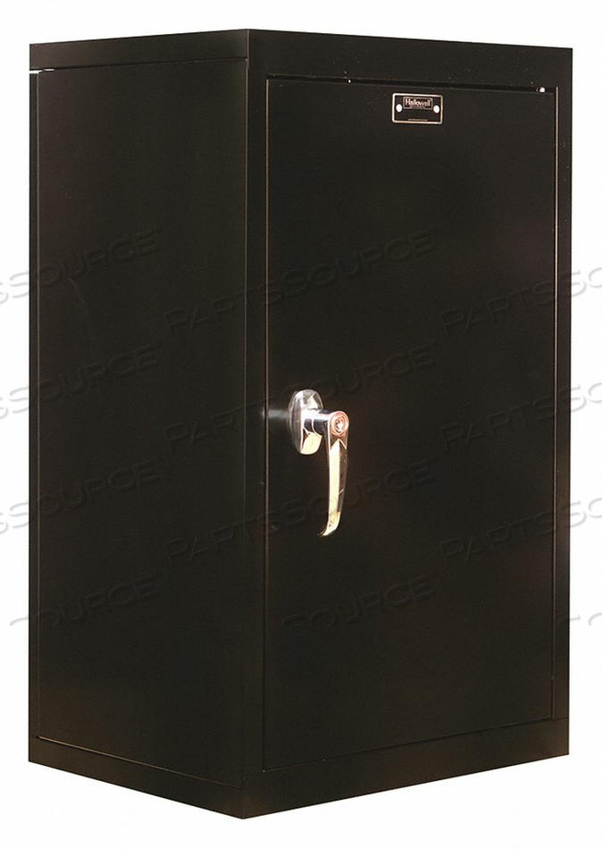 G6774 WALL CABINET 26 H 16 W BLACK by Hallowell