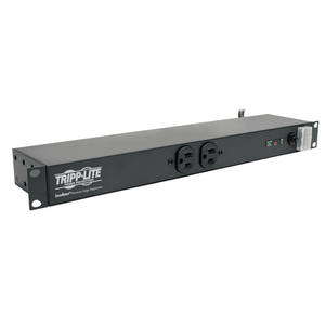TRIPP LITE ISOBAR SURGE PROTECTOR RACKMOUNT METAL 12 OUTLET 15FT CORD 1URM by Tripp Lite