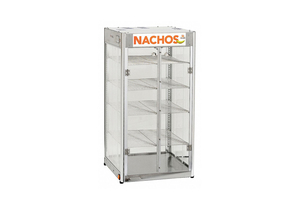 NACHO CHIPS HEATED DISPLAY CASE 1 SHELF by Cretors