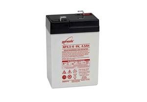 LARGE CELL BATTERIES, LEAD ACID, 6V, SLA, 4.5 AH by R&D Batteries, Inc.