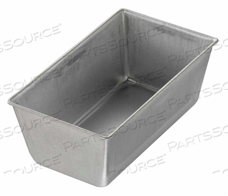 BREAD PAN SINGLE GLAZED 5-5/8X3-1/8 by Chicago Metallic