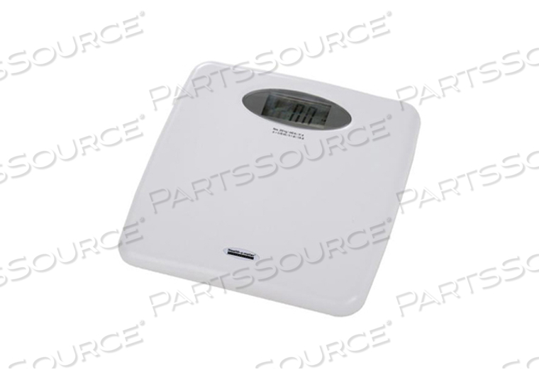 DIGITAL FLOOR SCALE, 400 LB X 0.1 LB, 1-1/4 IN LCD DISPLAY by Health o meter Professional Scales