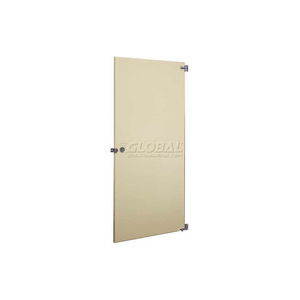 """STEEL INWARD SWING PARTITION DOOR W/ HARDWARE - 26""""W GRAY by Global Partitions"""