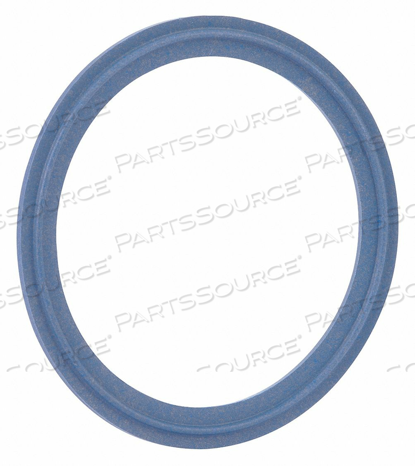 SANITARY GASKET 2-1/2IN TRI-CLAMP by Rubberfab