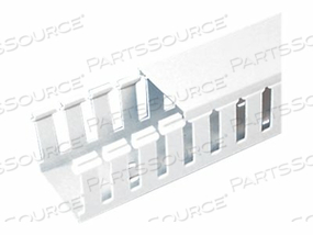 WIRE DUCT WIDE SLOT WHITE 1.75 W X 3 D by Panduit