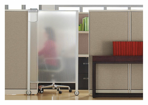 WORKSTATION PRIVACY SCREEN 38 X64 by Quartet