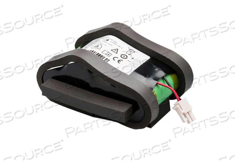 RECHARGEABLE BATTERY PACK, LITHIUM ION, 6.4V, 6 AH, 2 PIN LEAD LENGTH