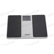 DIGITAL FLOOR SCALE, 500 LB X 0.2 LB, 2-1/2 IN DISPLAY by Health o meter Professional Scales