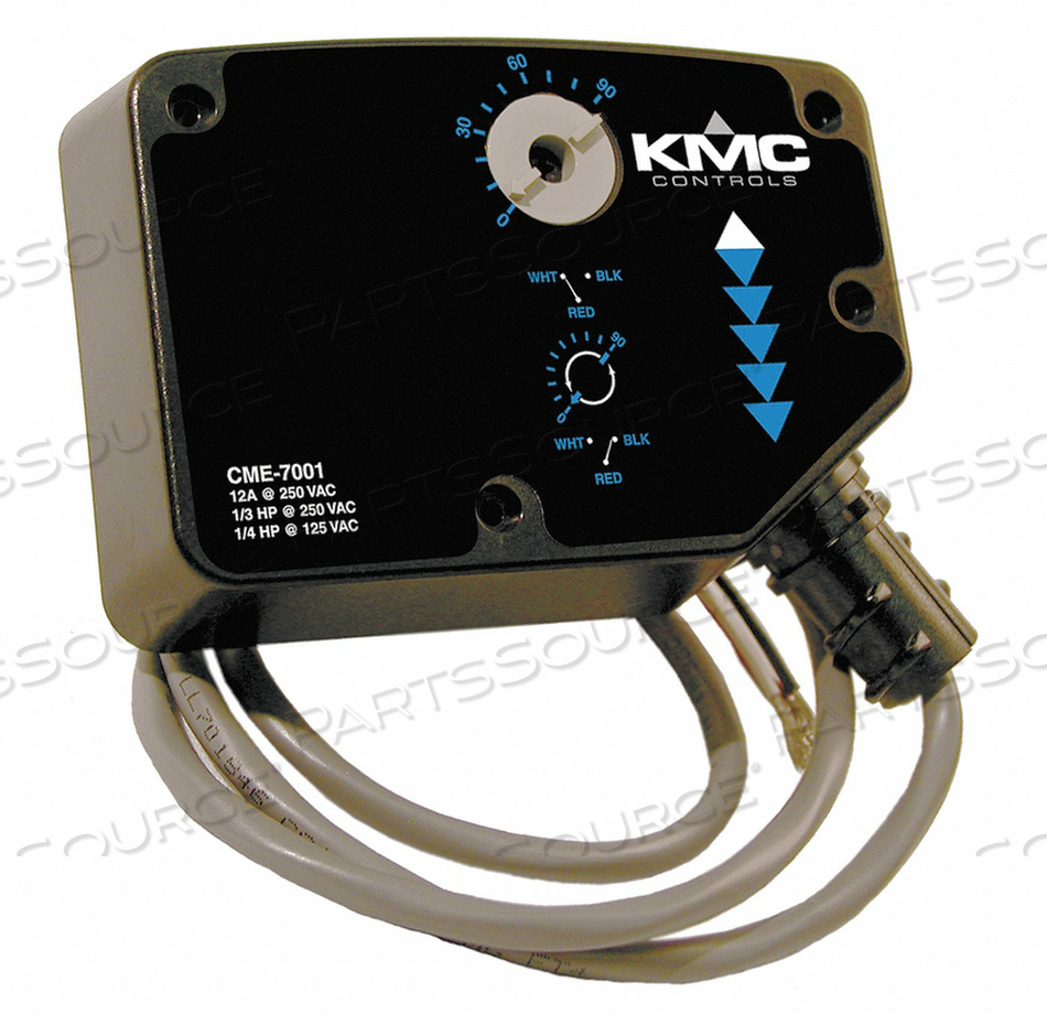 DUAL SWITCH MEP-7000 SERIES ACTUATORS by KMC Controls