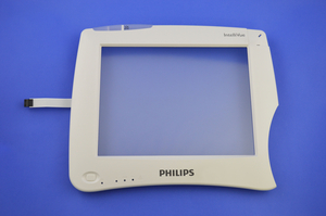 DISPLAY TOUCH GLASS AND TRIM BEZEL KIT by Philips Healthcare