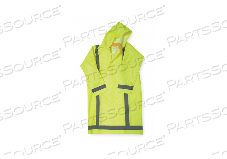 D2328 RAIN COAT UNRATED YELLOW/GREEN XL by Condor