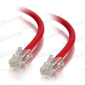 30FT CAT5E NONBOOTED UTP CABLE-RED by Legrand AV (C2G)