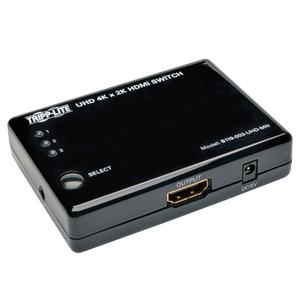 3 PORT HDMI MINI SWITCH FOR VIDEO AND AUDIO 4K X 2K UHD 24/30 HZ by Tripp Lite