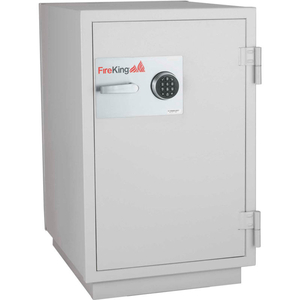 DATA SAFE DM2513-3, 3-HOUR FIRE/IMPACT RATING 25-1/4 X 31 X 40-1/4 PLATINUM FINISH by Fire King