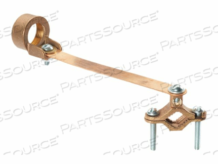 PANDUIT STRUCTURED GROUND MECHANICAL CONNECTORS BRONZE GROUND CLAMP FOR CONDUIT WITH STRAP - GROUNDING CLAMP KIT by Panduit