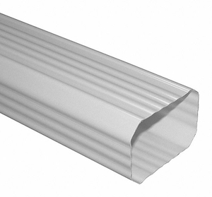 DOWNSPOUT 10 FT. 2X3 IN. WHT by Genova