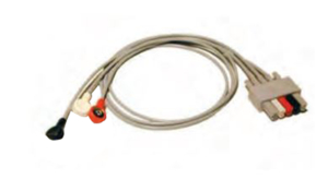 3 LEAD TWIN PIN ECG CABLE by Mindray North America