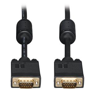 20FT SVGA / VGA MONITOR GOLD CABLE RGB COAX HD15 MALE / MALE 20' by Tripp Lite