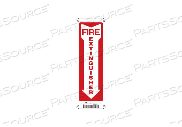 SAFETY SIGN 4 W 12 H 0.032 THICKNESS by Condor