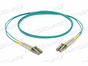 PANDUIT NETKEY - PATCH CABLE - LC MULTI-MODE (M) TO LC MULTI-MODE (M) - 9 M - FIBER OPTIC - 50 / 125 MICRON - OM4 - RISER - AQUA by Panduit