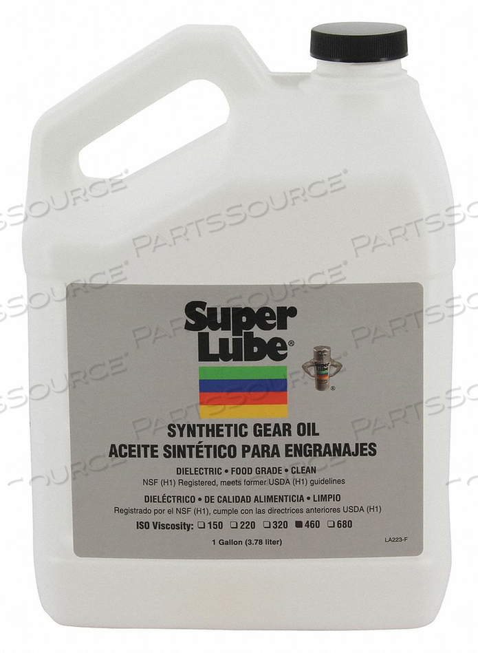 SYNTHETIC GEAR OIL ISO 460 1 GAL. by Super Lube