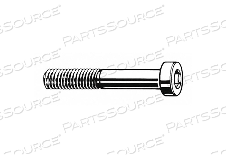 SHCS LOW M6-1.00X16MM STEEL PK2200 by Fabory