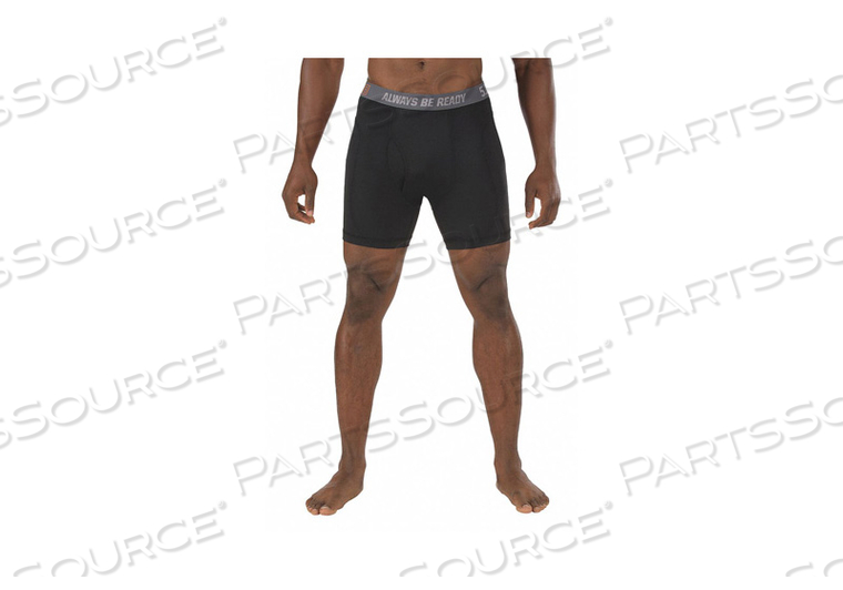 BOXER BRIEFS BLACK 2XL 44IN. TO 46IN. by 5.11 Tactical