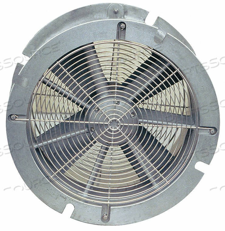 CONF SP VENT/FAN ALUMINUM SILV 24 IN by Air Systems International