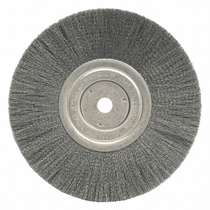 WHEEL WIRE 8 IN CRIMPED .010 X 5/8 IN by Weiler