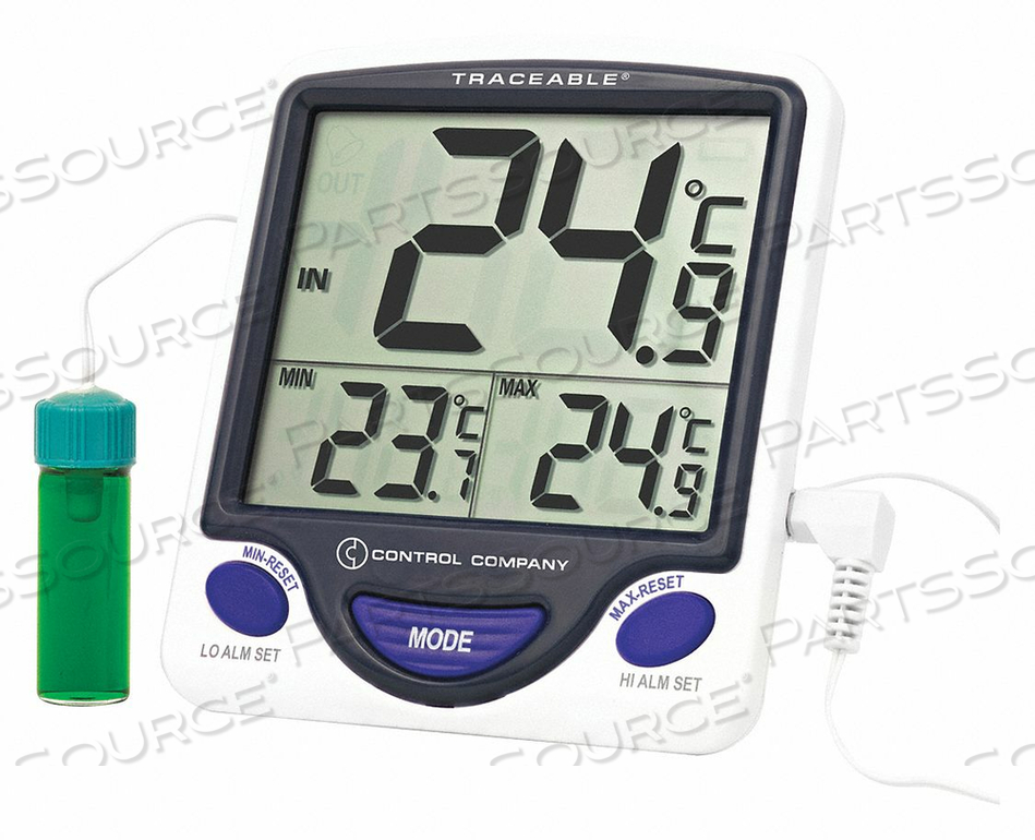DIGITAL THERMOMETER 5 ML VACCINE JUMBO by Traceable