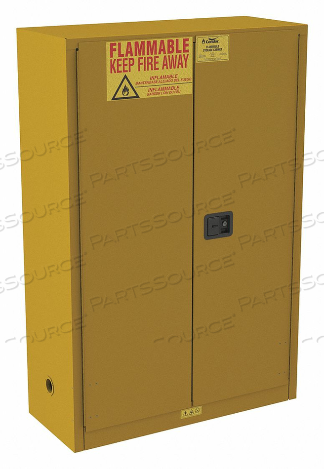 FLAMMABLE CABINET STANDARD 45 GAL. 65 H by Condor