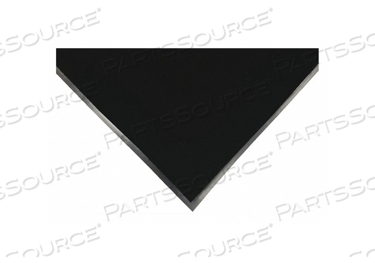 H6183 CARPETED ENTRANCE MAT BLACK 4FT. X 6FT. by Condor