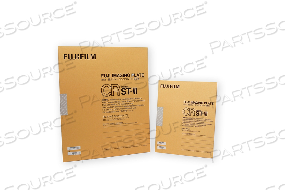 NEW 8X10 IN. FUJI BRANDED IMAGING PLATE ONLY. by RC Imaging (Formerly Rochester Cassette)