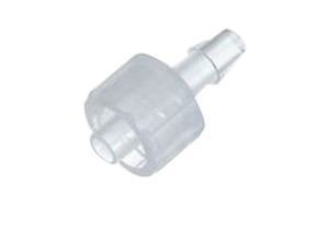 "COLE-PARMER ADCF MALE LUER TO 1/8"" L BARB ADAPTER, POLYPROPYLENE, 25/PK by Cole-Parmer Instrument Company"