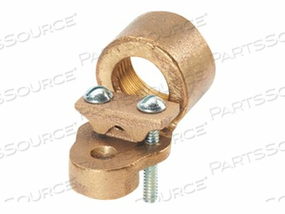 PANDUIT STRUCTURED GROUND MECHANICAL CONNECTORS BRONZE GROUND HUBS - GROUNDING CLAMP KIT by Panduit