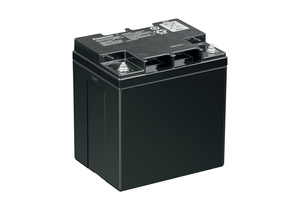 BATTERY, SEALED LEAD ACID, 12V, 28 AH, THREADED POST by Panasonic / Matsushita Electric Industrial Co, Ltd