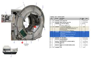 CXT P47 HPT BRUSH BLOCK by Siemens Medical Solutions