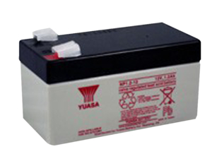 BATTERY, SEALED LEAD ACID, 12V, 1.2 AH, FASTON (F1) by R&D Batteries, Inc.