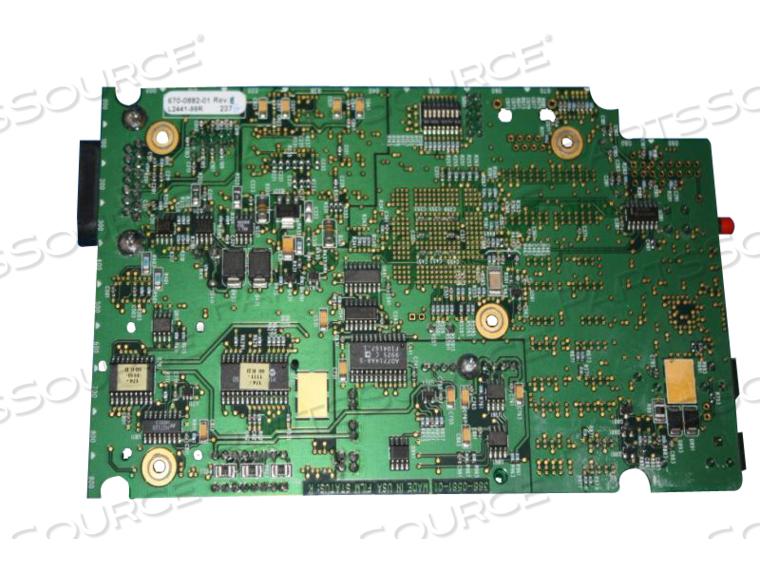 PCB ASSEMBLY, MPC860 CPU/NIBP, 90496