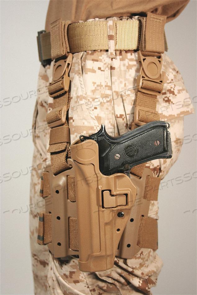 SERPA TACTICAL HOLSTER RH BERETTA by Blackhawk