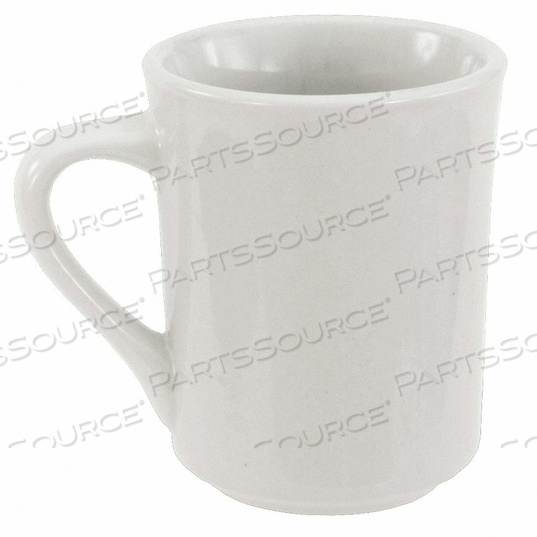 MUG BRIGHT WHITE 8-1/2 OZ. PK36 by Crestware