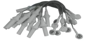 ADAPTER, 4 MM BANANA PLUG TO SNAP, 6 IN by Mortara Instrument, Inc