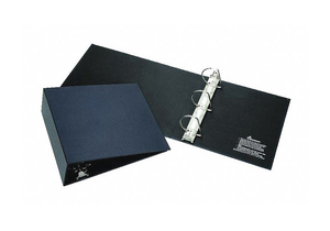 3-RING BINDER 3 BLUE by Ability One