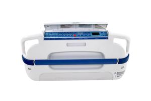 FOOTBOARD ASSEMBLY KIT, I/SCL/BE/ZC, HYBRID BLUE by Stryker Medical
