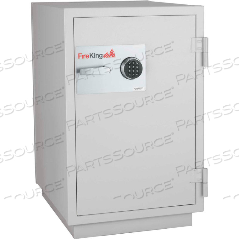 DATA SAFE DM2520-3, 3-HOUR FIRE/IMPACT RATING 32-1/16 X 31 X 40-1/4 PLATINUM FINISH by Fire King