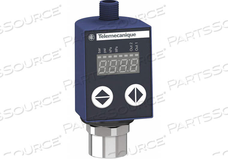 PRESSURE SENSOR 0 TO 145 PSI 4 TO 20MA by Telemecanique Sensors