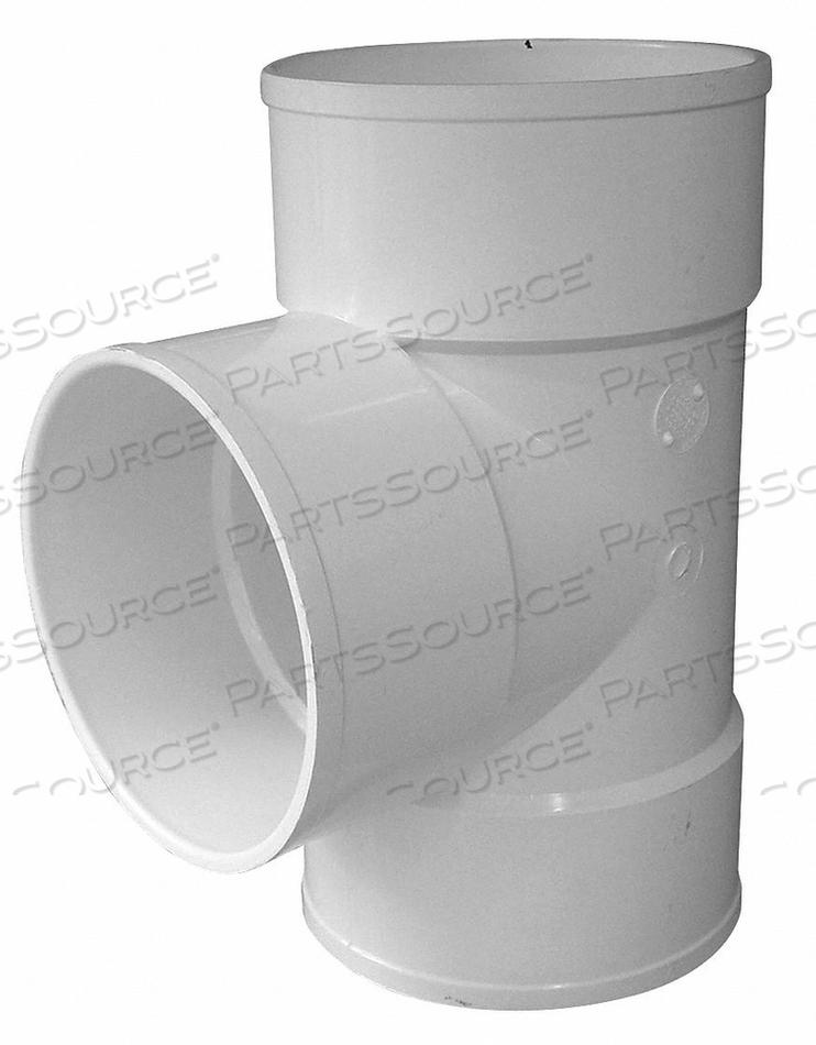 BULL NOSE TEE PVC 6IN. HUB by Genova