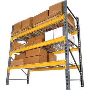 """LYNX/DOUBLE SLOTTED PALLET RACK STARTER - NO DECK - 144""""W X 42""""D X 192""""H by Husky Rack & Wire"""